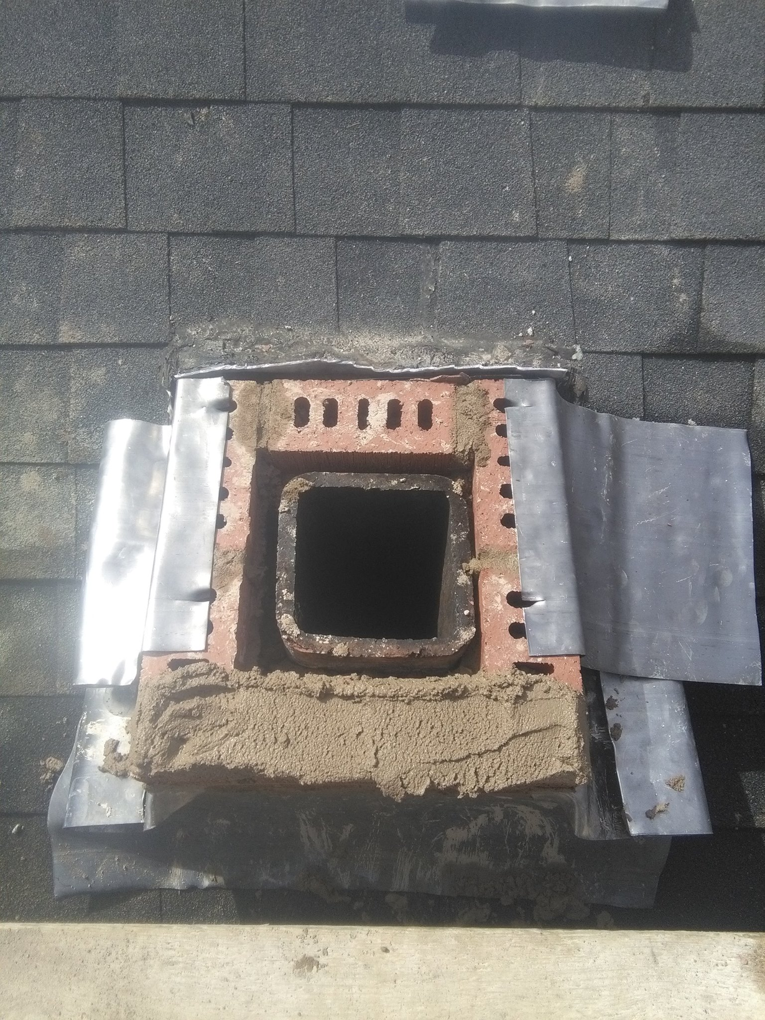 image of chimney construction services completed in Fall River, NS by Pro Chimney Services based in Halifax, NS servicing all of the Halifax-Dartmouth Regional Municipality, Bedford, Sackville, Mount Uniacke, Windsor, Hantsport , Wolfville, Kentville, Chester, Mahone Bay, Lunenburg, Bridgewater, Liverpool, Fall River, Wellington, Enfield, Elmsdale, Brookfield, Truro, Musquodoboit Harbour & surrounding areas.