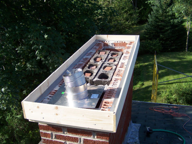 image of chimney liner-chimney liner installation services completed in  Mahone Bay, NS by Pro Chimney Services based in Halifax, NS servicing the Halifax-Dartmouth Regional Municipality, Bedford, Sackville, Mount Uniacke, Windsor, Hantsport , Wolfville, Kentville, Chester, Mahone Bay, Lunenburg, Bridgewater, Liverpool, Fall River, Wellington, Enfield, Elmsdale, Brookfield, Truro, Musquodoboit Harbour & surrounding areas.