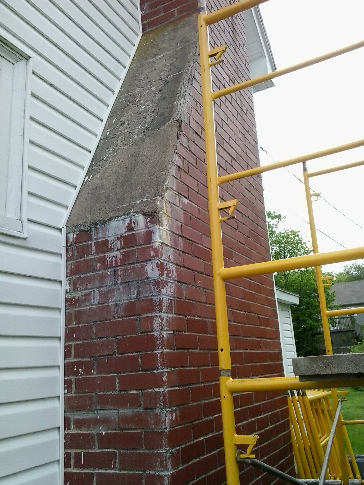image of chimney construction services completed in Halifax-Dartmouth Regional Municipality, NS by Pro Chimney Services based in Halifax, NS servicing all of the Halifax-Dartmouth Regional Municipality, Bedford, Sackville, Mount Uniacke, Windsor, Hantsport , Wolfville, Kentville, Chester, Mahone Bay, Lunenburg, Bridgewater, Liverpool, Fall River, Wellington, Enfield, Elmsdale, Brookfield, Truro, Musquodoboit Harbour & surrounding areas.