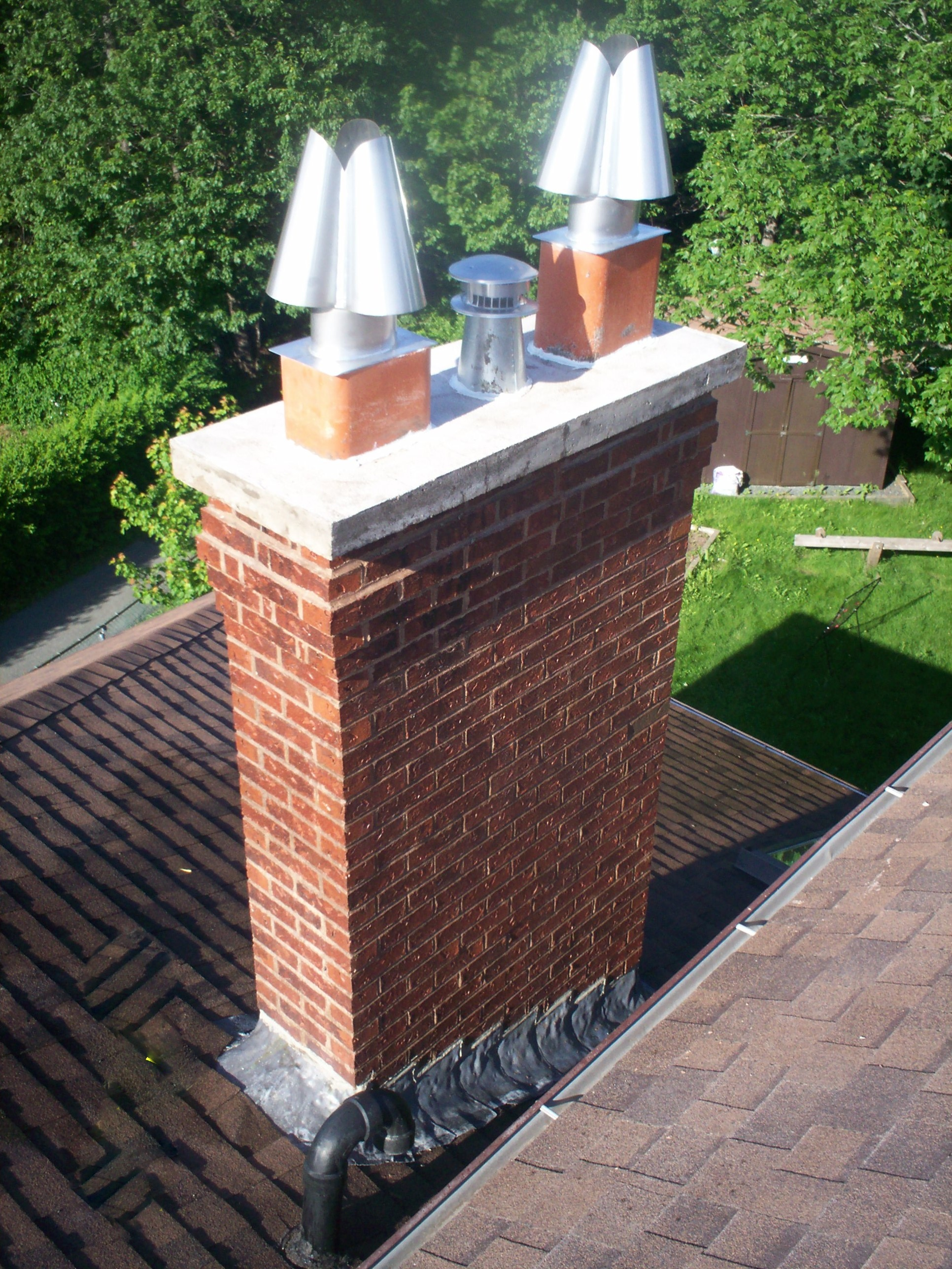 image of chimney-chimney repair services completed in Halifax-Dartmouth Regional Municipality, NS by Pro Chimney Services based in Halifax, NS servicing all of the Halifax-Dartmouth Regional Municipality, Bedford, Sackville, Mount Uniacke, Windsor, Hantsport , Wolfville, Kentville, Chester, Mahone Bay, Lunenburg, Bridgewater, Liverpool, Fall River, Wellington, Enfield, Elmsdale, Brookfield, Truro, Musquodoboit Harbour & surrounding areas.