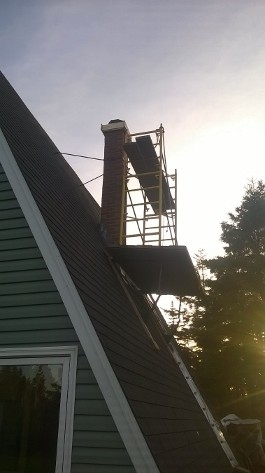 image of chimney repair services completed by Pro Chimney Services based in Halifax, NS servicing all of the Halifax-Dartmouth Regional Municipality, Bedford, Sackville, Mount Uniacke, Windsor, Hantsport, Wolfville, Kentville, Chester, Mahone Bay, Lunenburg, Bridgewater, Liverpool, Fall River, Wellington, Enfield, Elmsdale, Brookfield, Truro, Musquodoboit Harbour & surrounding areas.