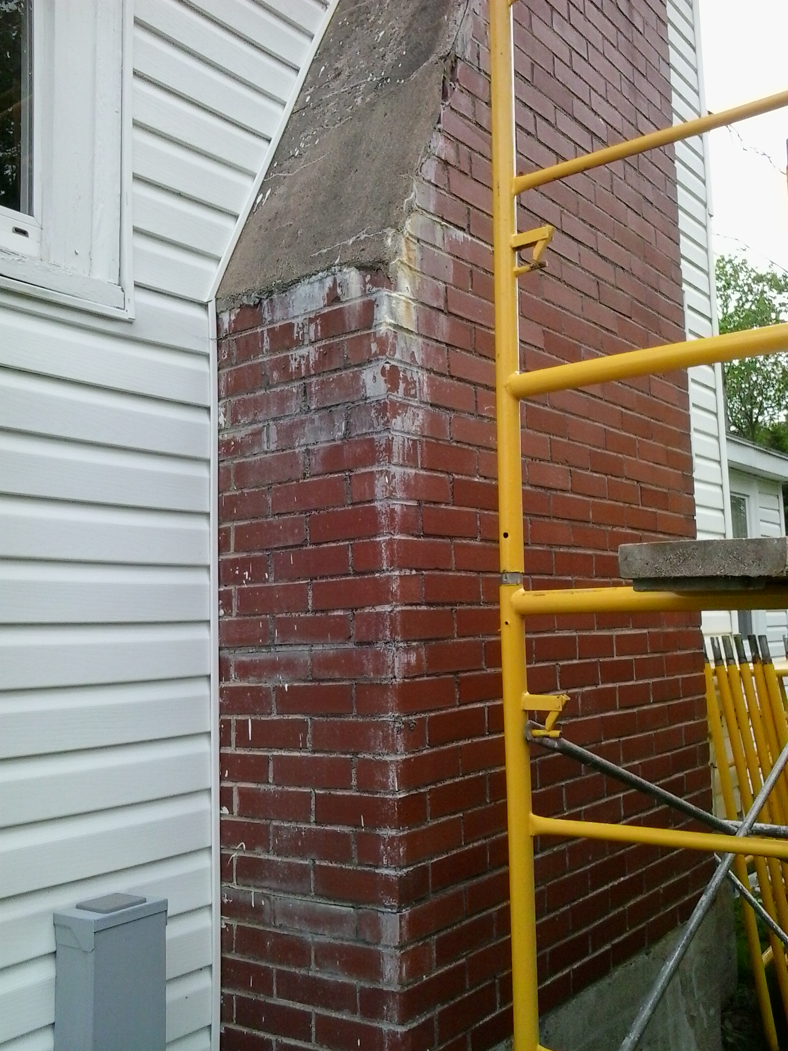 image of chimney-chimney repair services completed in Halifax-Dartmouth Regional Municipality, NS by Pro Chimney Services based in Halifax, NS servicing all of the Halifax-Dartmouth Regional Municipality, Bedford, Sackville, Mount Uniacke, Windsor, Hantsport, Wolfville, Kentville, Chester, Mahone Bay, Lunenburg, Bridgewater, Liverpool, Fall River, Wellington, Enfield, Elmsdale, Brookfield, Truro, Musquodoboit Harbour & surrounding areas.